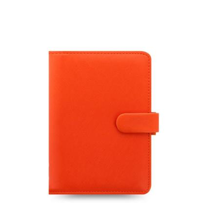 FILOFAX PERSONAL SAFFIANO BRIGHT ORANGE