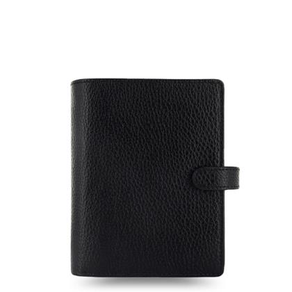 FILOFAX POCKET FINSBURY BLACK