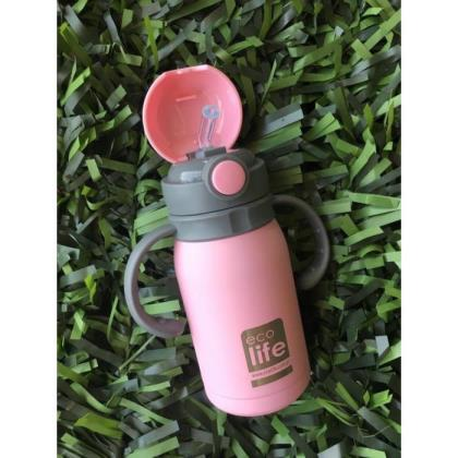 ECOLIFE BABY & KIDS THERMOS 300 ML - PINK
