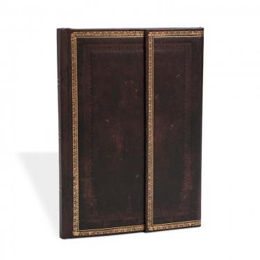 PAPERBLANKS BLACK MOROCCAN WRAP ULTRA L