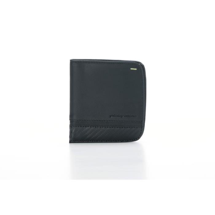 PININFARINA ΜΑΝ WALLET 8 CARDS CARBON-RFID STOP