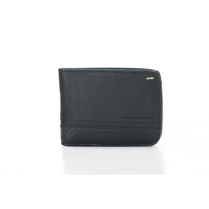 PININFARINA ΜΑΝ WALLET 8 CARDS+COIN CARBON-RFID STOP