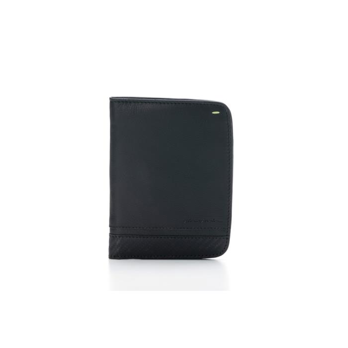 PININFARINA PASSPORT HOLDER CARBON-RFID STOP